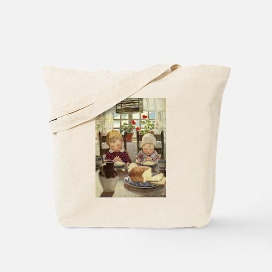 Saying Grace Tote Bag