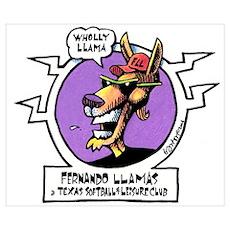 Wholly Llama II Poster