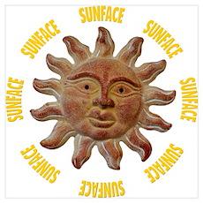 Kailua SunFace Poster