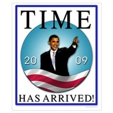 Obama - Time Has Arrived Poster