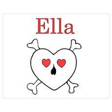 Ella - Love Pirate Poster