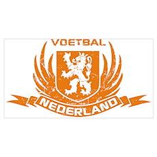 Voetbal Nederland Crest Poster