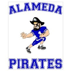 Alameda Pirates Canvas Art