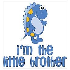 little middle big dinosaur Poster