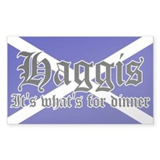 Scottish Haggis Decal