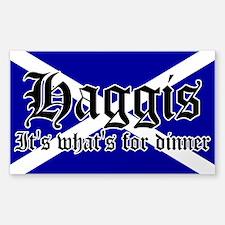 Scottish Haggis Decal