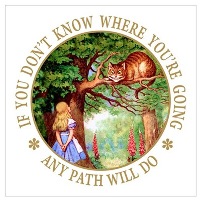 ANY PATH WILL DO Canvas Art