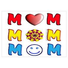 Mom, Mom, Mom Poster