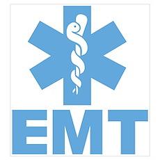 Blue EMT Poster