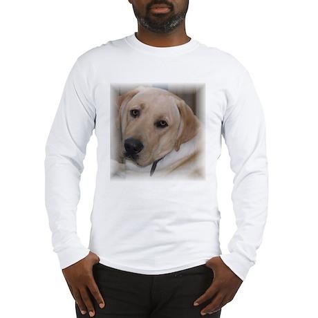 Male Labrador Retriver Long Sleeve T-Shirt