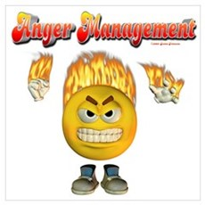 Anger management Canvas Art