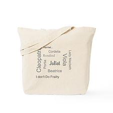 Cute Lady macbeth Tote Bag