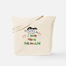 I Love Nana (Girl) Tote Bag