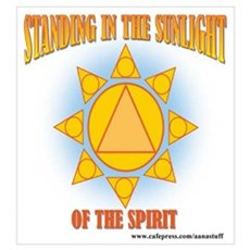 STANDING IN THE SUNLIGHT Poster