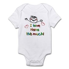 I Love Nana (Boy) Infant Bodysuit