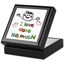 I Love Nana (Boy) Keepsake Box