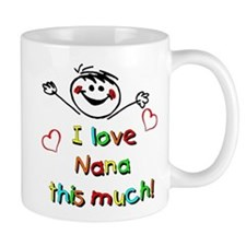 I Love Nana (Boy) Mug