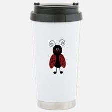 Love Bug Ladybug Travel Mug