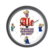 Time for an Ale Wall Clock