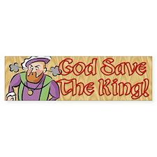 God Save the King Bumper Bumper Sticker