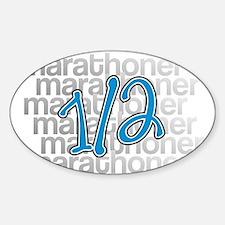 13.1 Half-Marathoner Sticker (Oval)