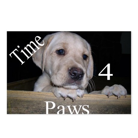 Time for Paws Postcards (Package of 8)