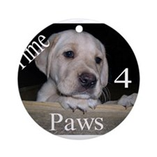 Time for Paws Ornament (Round)