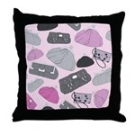 Handbags Throw Pillow