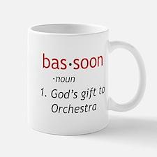 Bassoon Ninja Small Small Mug