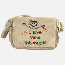 I Love Nana (Boy) Messenger Bag