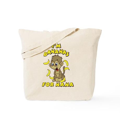 I'm Bananas For Nana Tote Bag