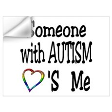 Someone With Autism Loves Me Wall Decal