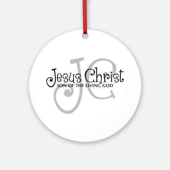 Jesus Christ - Son of the Living God Ornament (Rou