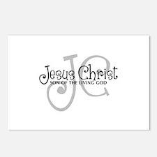 Jesus Christ - Son of the Living God Postcards (Pa