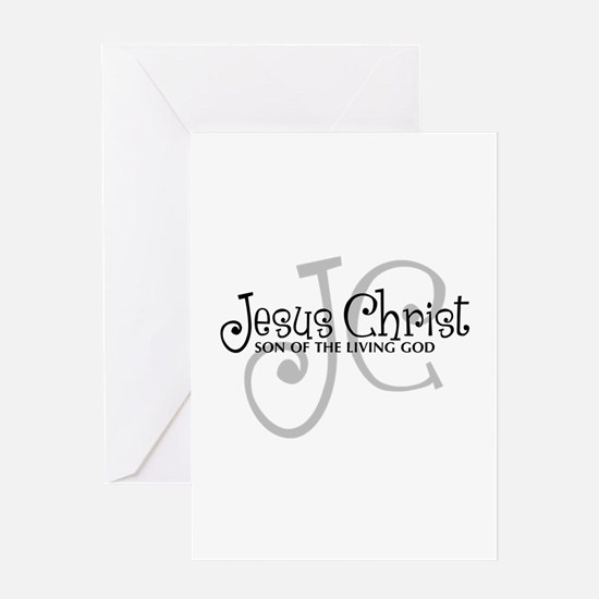 Jesus Christ - Son of the Living God Greeting Card