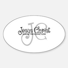 Jesus Christ - Son of the Living God Decal