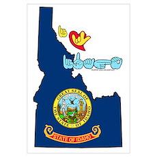 ILY Idaho Poster