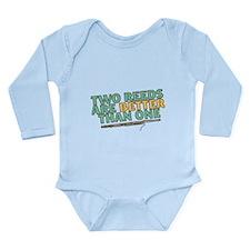 Two Reeds Long Sleeve Infant Bodysuit