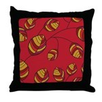 Fall Hues Throw Pillow
