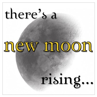 There's A New Moon Rising... Poster