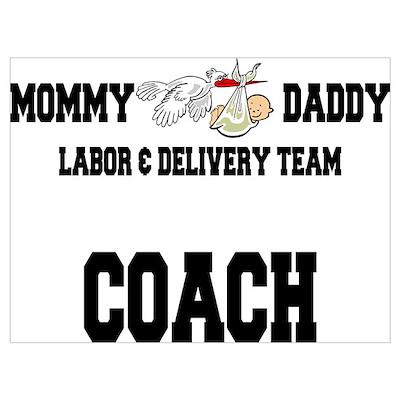 Labor Coach Poster