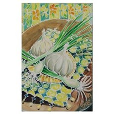 23x35 #3 of KITCHEN Bright Acrylic Painting Series Poster