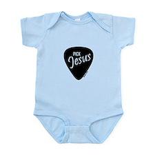 Pick Jesus - Romans 10:13 Infant Bodysuit
