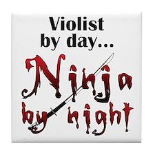 Viola Ninja Tile Coaster