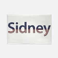 Sidney Stars and Stripes Rectangle Magnet