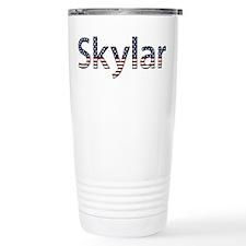Skylar Stars and Stripes Travel Mug