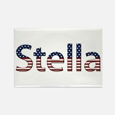 Stella Stars and Stripes Rectangle Magnet