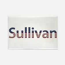 Sullivan Stars and Stripes Rectangle Magnet