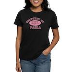 Property of Paola Women's Dark T-Shirt