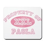 Property of Paola Mousepad